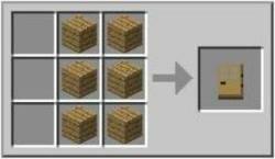 Узнаем все про дверь в minecraft